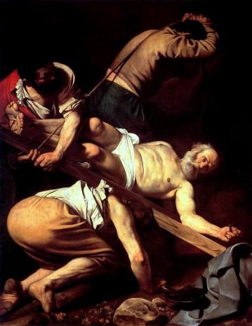 """""""Crocifissione di San Pietro"""" da Wikipedia"""