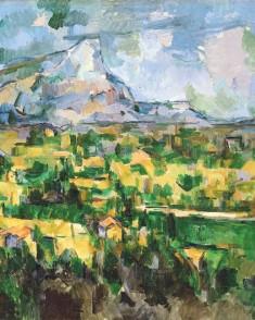 Colori e linee indipendenti (Cezanne)