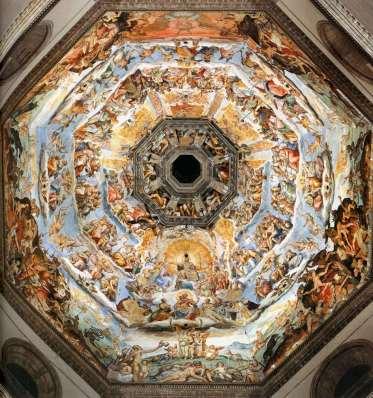 Affresco di Vasari e Zuccari