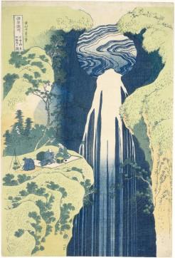 """""""Tre uomini fanno picnic presso la cascata Amida"""""""