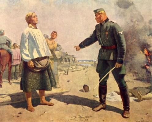 La madre del partigiano Gerasimov
