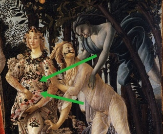 Zefiro, Clori e Flora