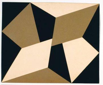 """""""Plano en superficie modulada"""" 1957"""