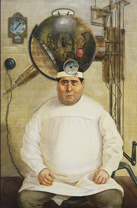 """""""Ritratto del dr.Mayer Hermann"""" O. Dix"""