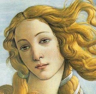 """Venere dalla """"Nascita di Venere"""""""