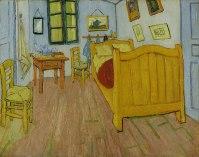 La casa gialla stanza
