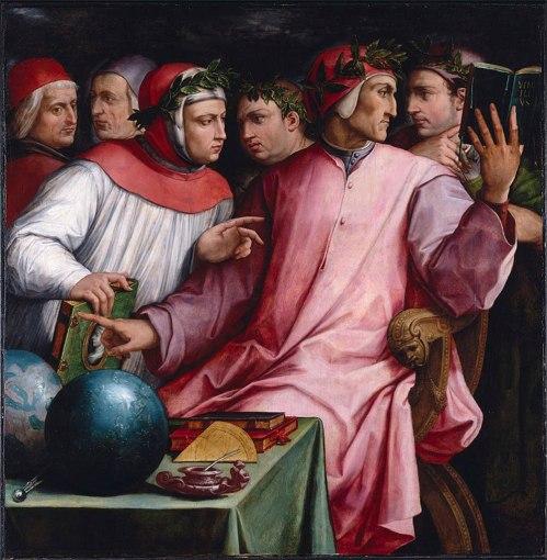 Ritratto di sei poeti toscani Vasari