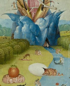 Uovo giardino delle delizie Bosch