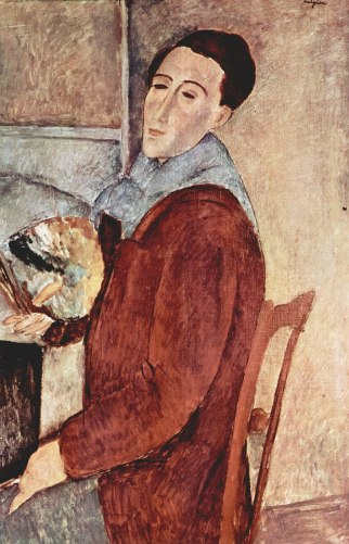 Modigliani autoritratto