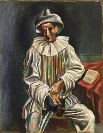 picasso pierrot